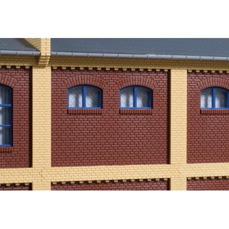 Murs de façade 2532A rouge Auhagen 80524