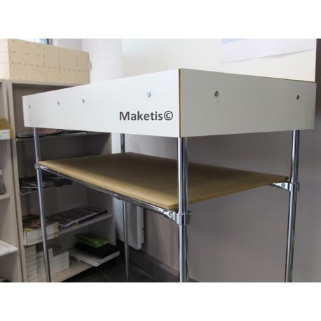 Etagère pour Easy Module Maketis 118x59 cm MOD11859E - Maketis