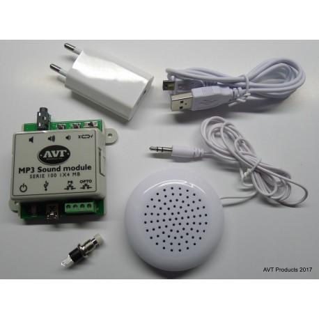 SOUND MODULE SERIE 100 AVT 1 x 4 Mo