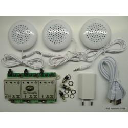 SOUND MODULE SERIE 100 AVT 3 x 8 Mo