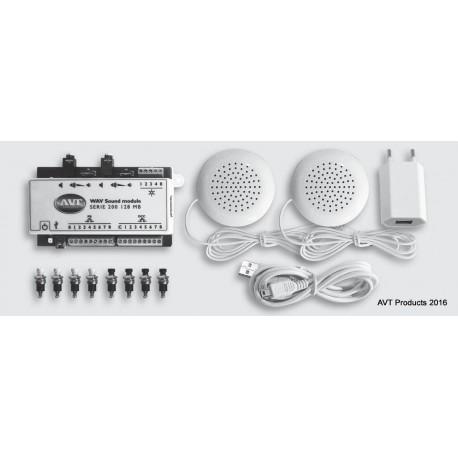 SOUND MODULE SERIE 200 AVT 1 x 128 MB