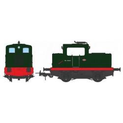 Locotracteur diesel MOYSE 32 TDE Origine, SNCF Vert 306 Analogique HO REE MB 071