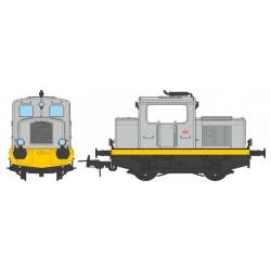 Locotracteur diesel MOYSE 32 TDE Industriel GRIS Analogique HO REE MB 079