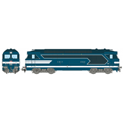 Locomotive diesel BB 67624, Dépôt de LIMOGES Ep.III-IV - Analogique HO REE MB 067