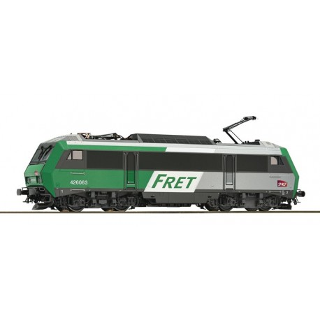 Locomotive électrique BB 426063 FRET SNCF ep V-VI Digital Son HO Roco 73862