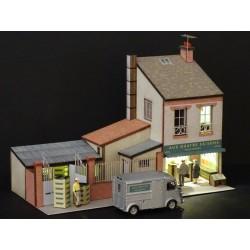 Petite maison avec commerce 1/87ᵉ HO