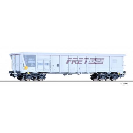 Wagon tombereau à toit coulissant T19 Fret SNCF Ep V HO TILLIG 76616