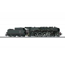 Locomotive à vapeur pour trains rapides 241 A 65 SNCF Digital son HO Trix 22941 -Maketis