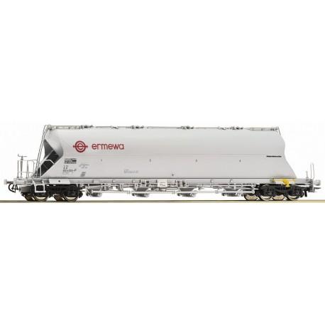 Wagon silo pulvérulents ERMEWA Ep VI HO Roco 76700