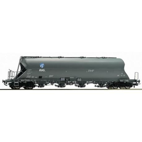Wagon silo pulvérulents KVG DB AG Ep V HO Roco 76701