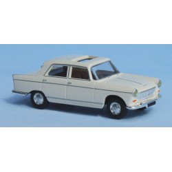 Peugeot 404, blanche toit ouvert Brekina SAI 2130