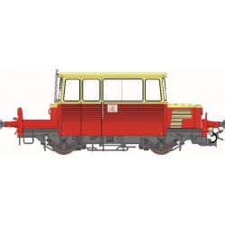 Draisine diesel DU65 SUD-EST, toit CREME, logo ancien, Ep.III-IV - Analogique HO REE MB-073