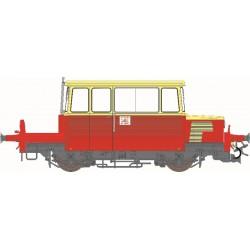 Draisine DU65 SUD-EST, toit CREME, logo encadré, Ep.IV - Digitale Son HO REE MB-074S