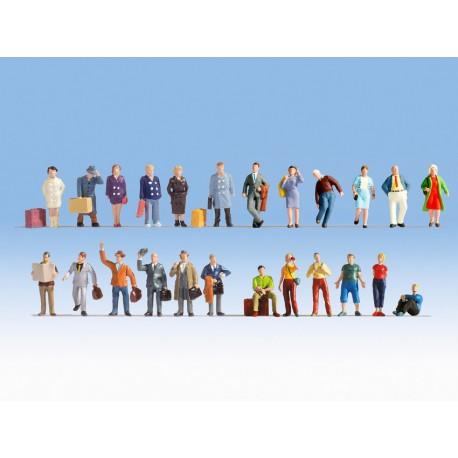 "Set de figurines XL ""Voyageurs"" HO Noch 16101"