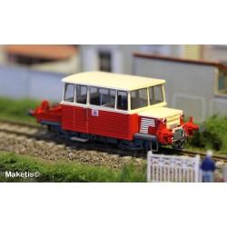 Draisine diesel DU65 6.044 NORD, toit CREME, logo nouille, Ep.V - Analogique HO REE MB-075