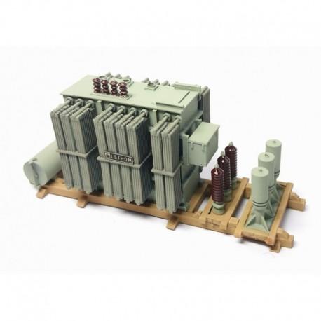 Chargement gros transformateur ALSTHOM HOChargement gros transformateur ALSTHOM HO Artitec REE Artitec REE