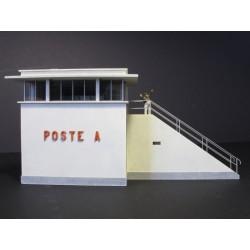Petit poste d'aiguillage HO (haut) Cités Miniatures ED-026-3-HO - MAKETIS