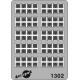 Moderne Etikettenhalter-Raster (80 St) H0 Decapod 1302 - Maketis