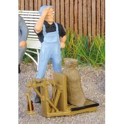 Getreidewaage Messingguss Weinert 3241