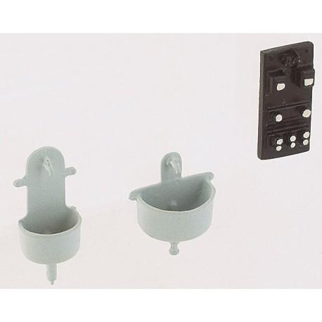 Laves mains anciens 2 pièces Weinert HO 3221 - Maketis