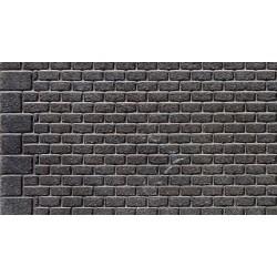 Mur pierre taillées régulières gris Weinert HO
