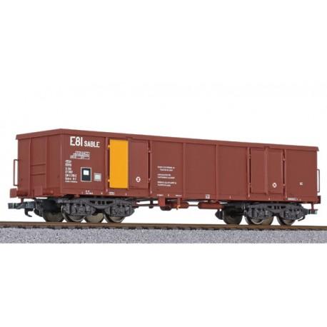 Wagon tombereau Eaos-x SNCF Ep IV HO Liliput L235602