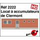 Akkumulatorraum in Clermont H0 2222 - Maketis