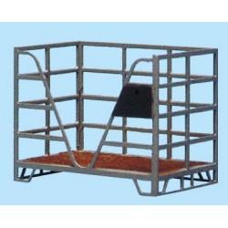 Palette box métallique, 2 pièces HO Weinert 3204