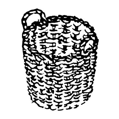 Kohlenkorb,Messingguss 1 Stück Weinert 8746