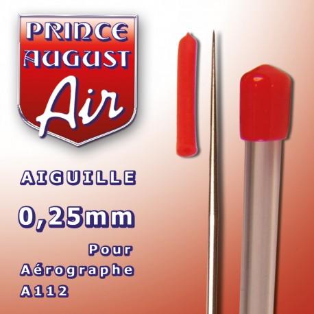 Aiguille 0.25 mm pour aérographe A112 Prince August