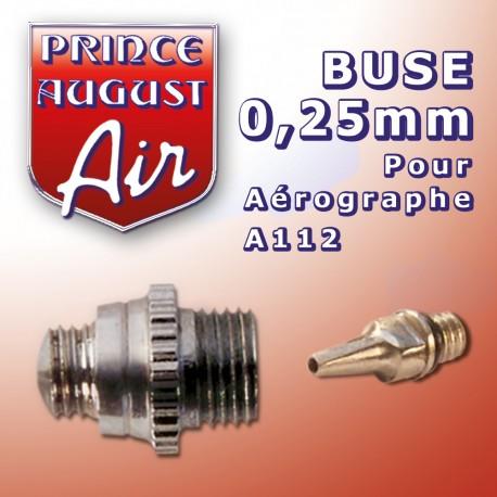 Buse 0.25mm pour aérographe A112 Prince August