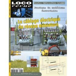 le câblage électrique du réseau miniature Loco Revue HSLR11