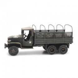 Camion GMC 353 cargo US ARMY cabine tissu HO Artitec 387346