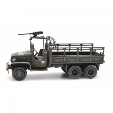Camion GMC 353 cargo US ARMY cabine ouverte HO Artitec 387345