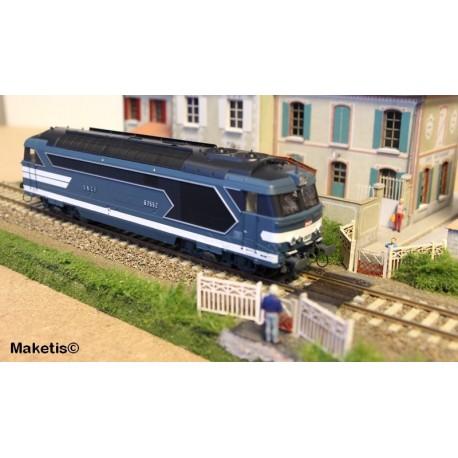 Locomotive diesel BB 67552, Dépôt de NEVERS Ep.IV-V - Digitale Son 3 Rails AC HO REE MB 068SAC