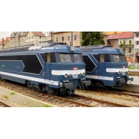 Locomotive diesel BB 67455, Dépôt de NÎMES (Talgo) Ep.III-IV - Digitale Son 3 Rails AC HO REE MB 063SAC