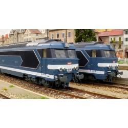 Locomotive diesel BB 67497, Dépôt de NÎMES, Logo encadré peint Ep.IV-V - Digitale Son 3 Rails AC HO REE MB 066SAC