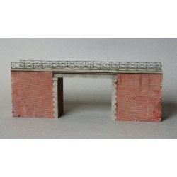 Pont route type Creil-Amiens pour 2 voies [HO]