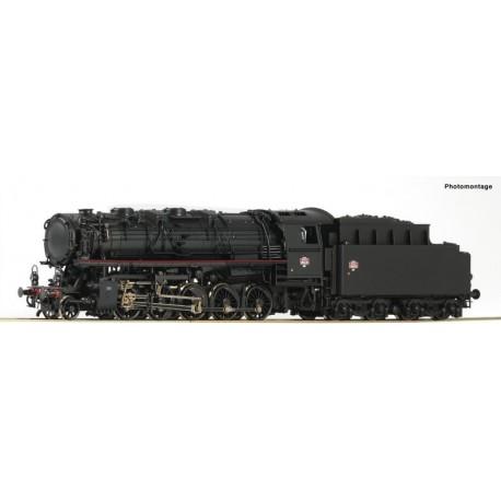 Locomotive à vapeur 150 X, SNCF ep III Digital Son HO Roco 62145
