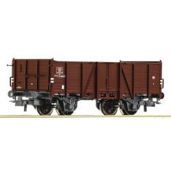 Wagon tombereau à essieux SNCB époque III HO Roco 76685