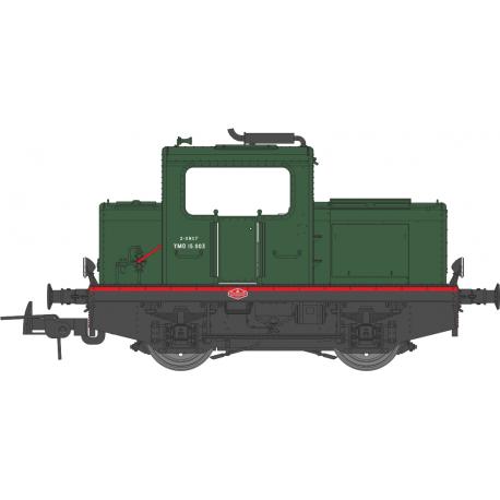 Locotracteur MOYSE 32 TDE SNCF Vert 306 Ep III Analogique HO REE MB-089