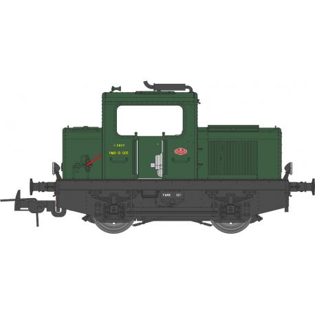 Locotracteur MOYSE 32 TDE SNCF Vert 306 Ep III Analogique HO REE MB-090