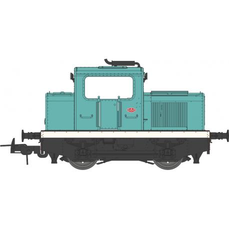 Locotracteur MOYSE 32 TDE Industriel Bleu Ep III-V Analogique HO REE MB-092