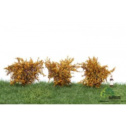 Bushes dark yellow MBR 50-3003