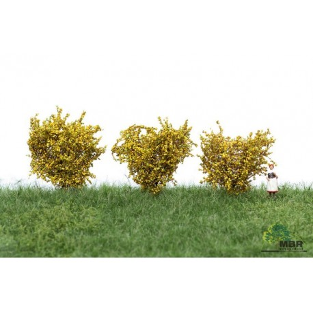 Bushes light yellow MBR 50-3004