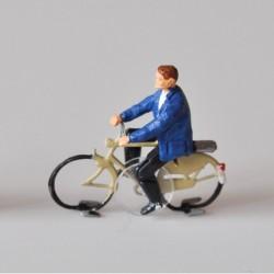 Cycliste homme assemblé pour système Magnorail