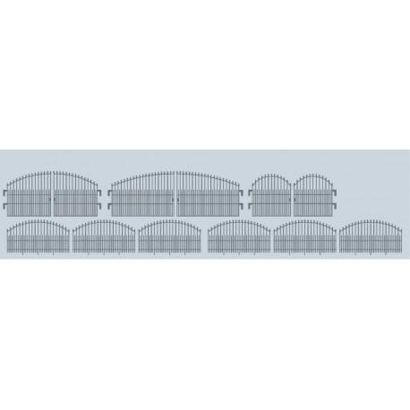 Ensemble de clôtures métalliques HO Weinert 3277