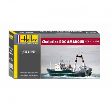 Chalutier ROC AMADOUR 1/200 Heller 80608