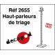 Hof-Lautsprecher (4 St) H0 Decapod 2655 - Maketis