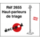 Shunting yard loudspeakers (4 pcs) H0 Decapod 2655 - Maketis